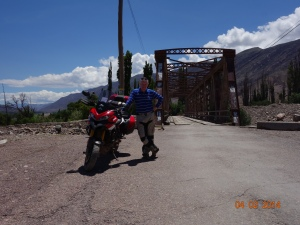 On the way to Gargante Del Diablo